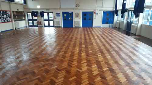 St_Augustines_School_hall_1_after__sanding_and_finishing