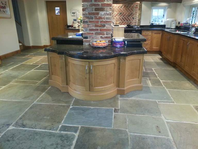 stone floor natural