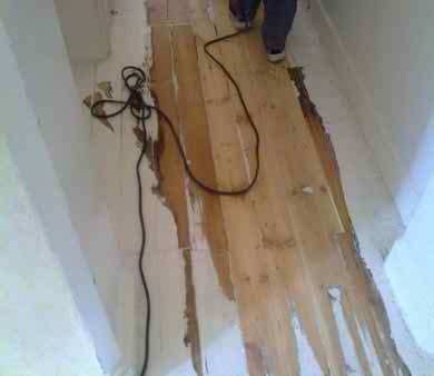 Floor mid restoration