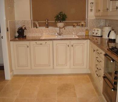 travatine kitchen tiles